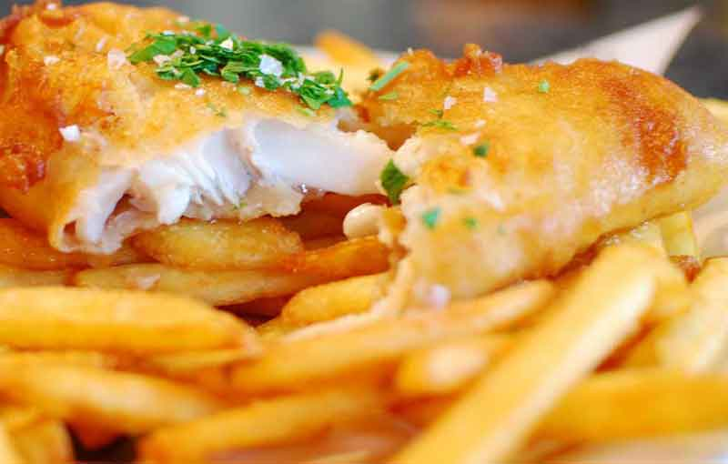 whitby haddock and chips