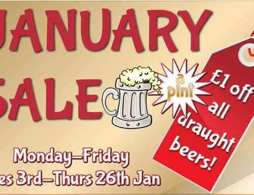January Beer Sale!
